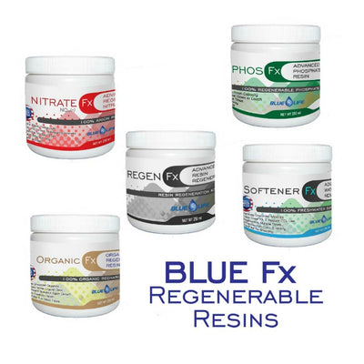 Blue Life Regenerable Resins