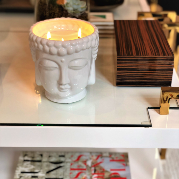 05-Buddha 3-Wick Essential Oil Candle
