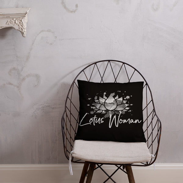05-Lotus Woman On the Rise™ Pillow