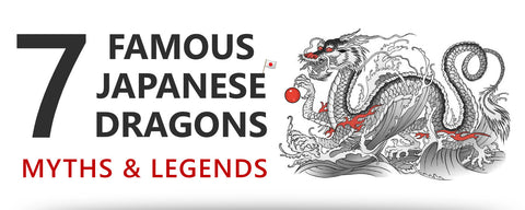 7 famous Japanese dragons: myths & legends