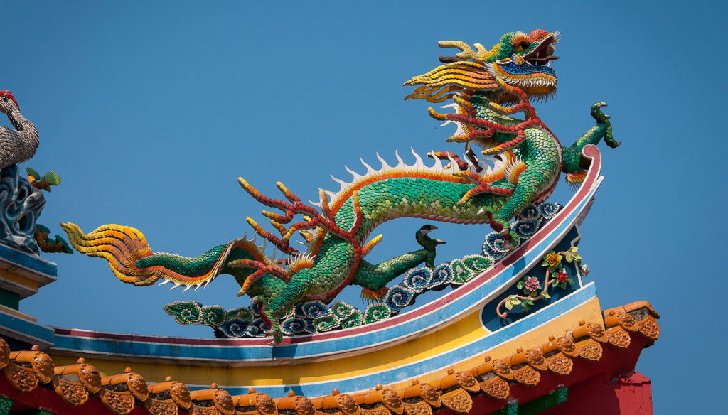 Chinese Dragon Temple