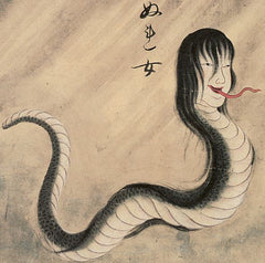 Nure-onna, the woman-dragon