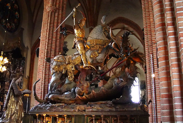 Saint George and the Dragon by Bernt Notke