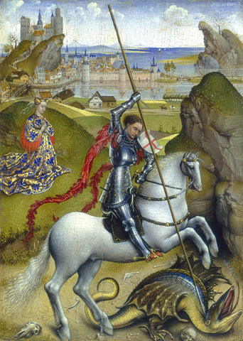 The Battle of Saint George against the Dragon