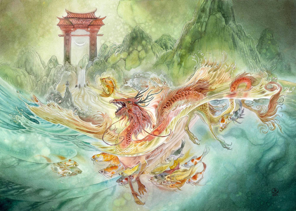 The Legend of the Carp and the Dragon