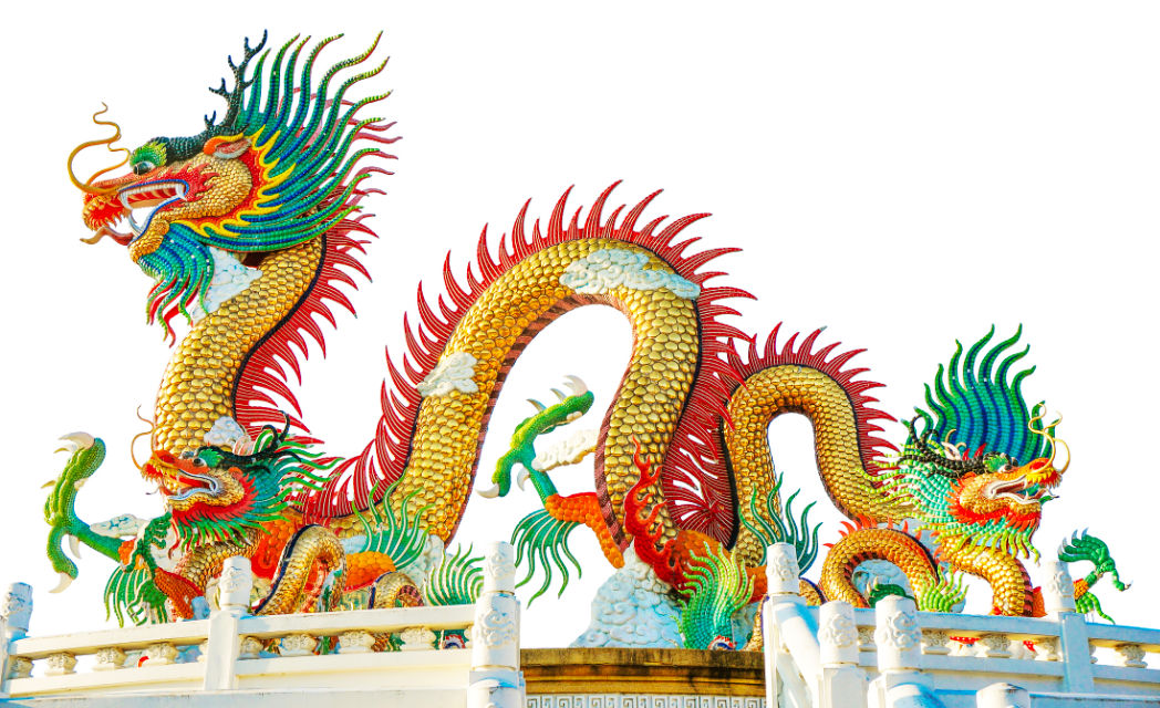 Tibetan Dragon Temple