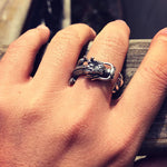 Japanese Dragon Ring (Silver)