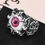 Pink Dragon Eye Ring