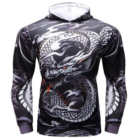 Asian Dragon Hoodie