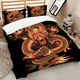 Asian Dragon Bedding