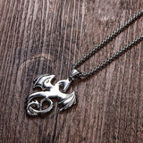 Wyvern Necklace (Steel)