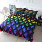 Bedding Set with Dragon Scales