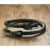 Black Chinese Dragon Bracelet