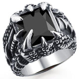 Black Dragon Claw Ring