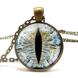 Blue Dragon Eye Necklace