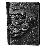 Black Chinese Dragon Wallet
