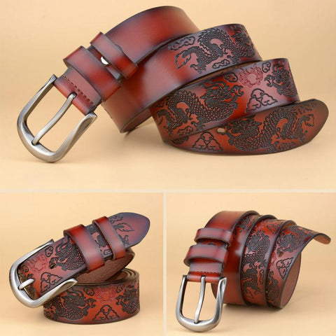 Red Chinese Dragon Belt