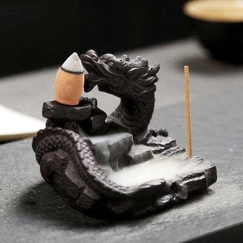 Chinese Dragon Incense Burner