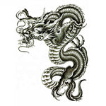 Chinese Dragon Temporary Tattoo