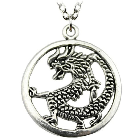 Circle Dragon Pendant