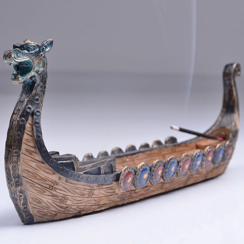 Dragon Boat Incense Burner