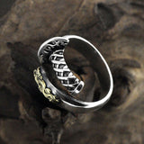 Dragon Sword Ring (Silver)