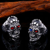 Rings with Skull & Dragons