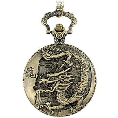Dragon Watch Necklace