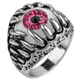 Pink Dragon Claw Ring