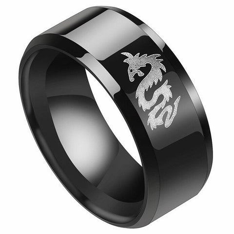 Dragon Logo Ring