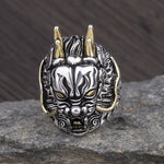 Stainless Steel Dragon Ring for Bikers