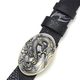 Chinese Dragon Carved Belt