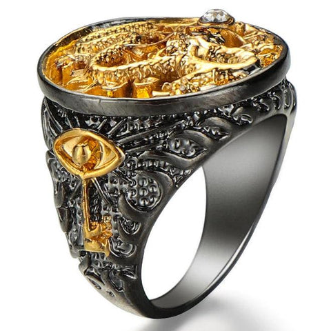 Dragon Signet Ring