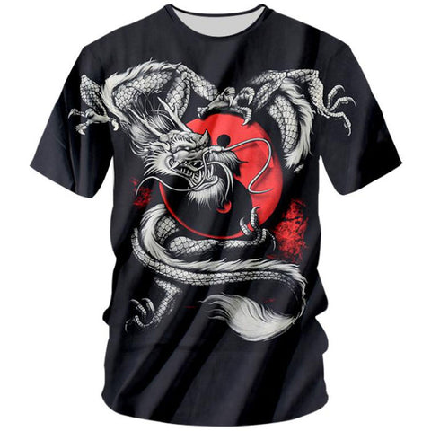 Dragon Yin-Yang T-Shirt