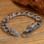 Chinese Dragon Bracelet (Silver)