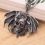 Dragon Skull Gothic Necklace