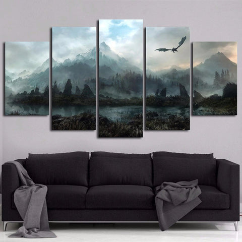 Dragon's Land Wall Art