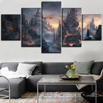 Dragons' Earth Wall Art