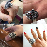 Examples of People wearing the Dragon Ring