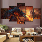 Fantasy Dragon Wall Art