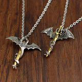 Dragon Sword Necklace (Steel)