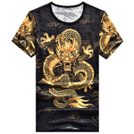 Golden Chinese Dragon T-Shirt