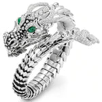 Green-Eyed Chinese Dragon Ring
