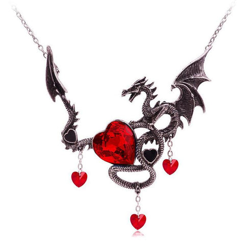 Heart of the Dragon Necklace
