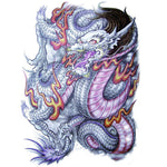 Japanese Dragon Temporary Tattoo