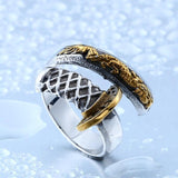 Dragon's Katana Ring (Steel)