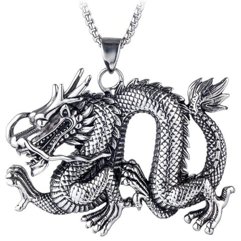 Large Dragon Necklace