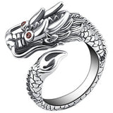 Lucky Chinese Dragon Ring