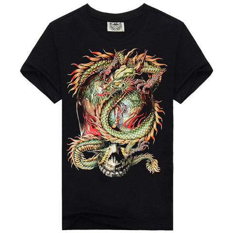 Malicious Chinese Dragon T-Shirt