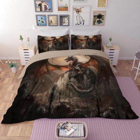 Medieval Dragon Bedding